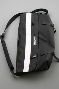 Just like an Aerostich suit, the RiderWearHouse Courier bag is simple, strong and incredibly well-made.
