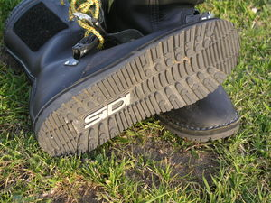 Laces provide snug and secure placement of the foot.