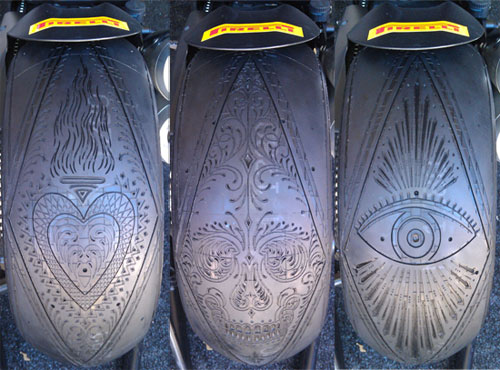 Scott Campbell Tire Tattoo