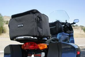 This tail bag is versatile, sturdy and looks like a factory accessory