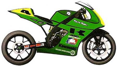 Are converted 450cc dirtbikes like this concept a glimpse of roadracing�s future?