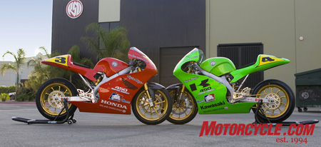 Roland Sands Design converted a couple of dirtbikes into roadrace machines to explore the concept of creating a new entry-level racing class.