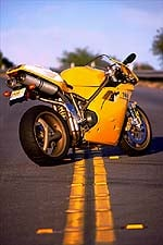 first ride: year 2000 ducati 748 - motorcycle