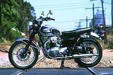 Is it a Triumph? Is it a BSA? A Norton, perhaps?