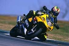 Suzuki's new-for-2001 GSX-R600 aims to set new standards in World Supersport with a class-leading motor and chassis.