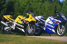 Suzuki's redesign for the 2001 creates a serious contender for Yamaha's YZF-R6.
