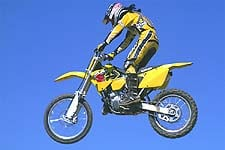 "Even Mark ""Kato"" Kariya felt comfortable in the air aboard Suzuki's new RM"