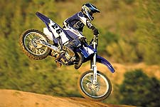 Yamaha's YZ125 underwent numerous changes to keep it at the front of the pack.