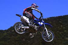 Doug Dubach flies Yamaha's New YZ250F