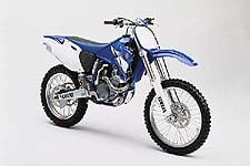 New for '01 YZ426F features titanium valves -- and a convection oven.