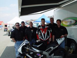 Left to Right: Ian Radcliffe, Chris Sukena, Eric Bass, Sean Alexander, Dale Alexander and Scott Buckley