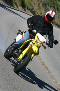 Aren't you glad you're on a street-legal supermoto machine?