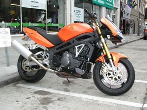 It's not the fastest bike for the money, but it looks wicked good in orange, don't you think?