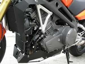 The centerpiece of this bike is a modern, unique, two-cylinder 1000cc parallel twin.