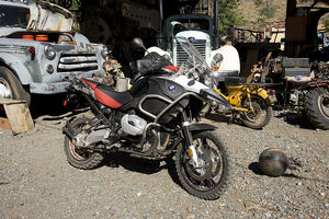 The 2006 BMW R 1200 GS Adventure. Definitely not junk.