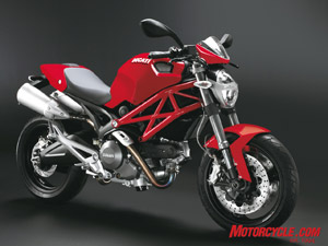 2009 Ducati Monster 696. It comes with the pillion cover and little flyscreen as standard in the States. MSRP will be $8775.