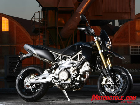 2008 Aprilia Dorsoduro brings a new take on the supermoto theme.