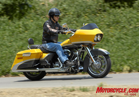 Pete believes the Road Glide offers the best ergo comfort and ride quality from the suspension coupled with very good Brembo-powered ABS braking to make it his favorite of the four CVO models.
