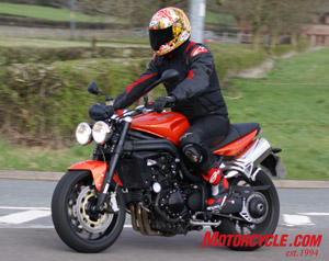2008 Triumph Speed Triple 1050 Review - Motorcycle.com