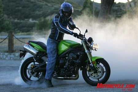 The best in the Street Triple can bring out the worst in its rider.