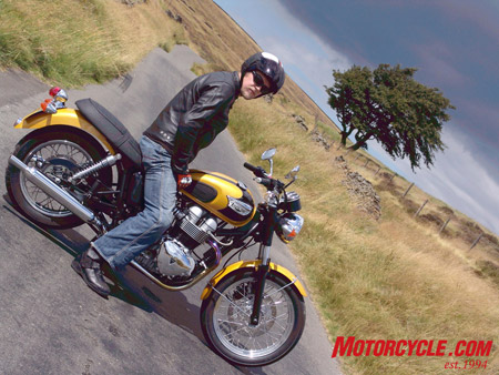 2007 Triumph Bonneville T100 Review Motorcyclecom