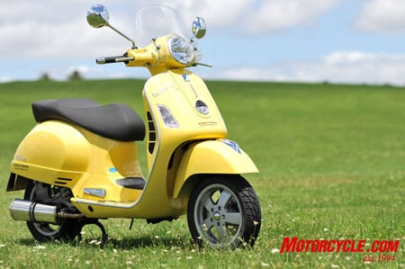 2007 Vespa Gts 250ie Review Motorcycle Com