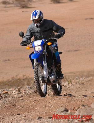 Everyone who rode seemed impressed with the performance of the suspension, making the WR250R a competent tool for a wide variety of riders with varying degrees of skill.