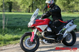 Moto Guzzi brings us the new Stelvio, ready to do battle in the Alps with BMW's legendary GS. Our pal Yossef takes us for a ride.