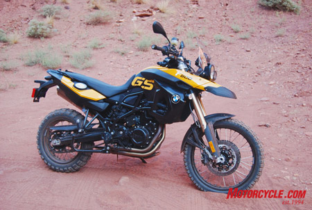 2009 Bmw F800gs Review First Ride Motorcycle Com