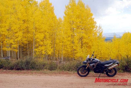 Fall is in the air, and the F800GS is finally in the U.S.!