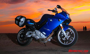 Lightweight sport-touring doesn't get any better than BMW's F800ST, a desirable amalgam of sporting prowess and long-distance capability.