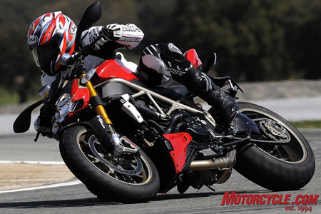 Style and performance unlike any other naked sportbike.