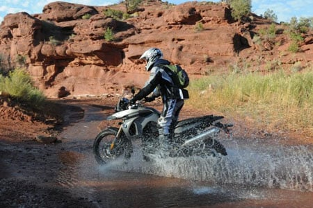 BMW's GS line has been synonymous with adventure-touring, and the F800GS expands the appeal by providing an ease of use far beyond its more ponderous 1200cc brethren.