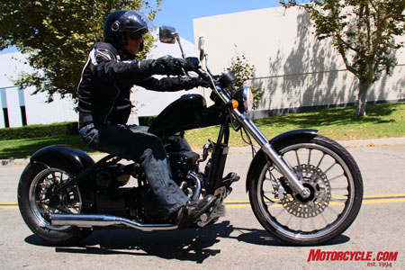 If it's possible to be a bad-ass on a 270cc cruiser, the Barhog is your vehicle.