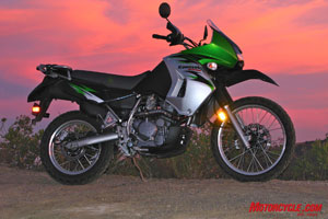 Perhaps no other streetbike is as versatile as the well-rounded Kawasaki KLR650, and especially not at its bargain retail price.
