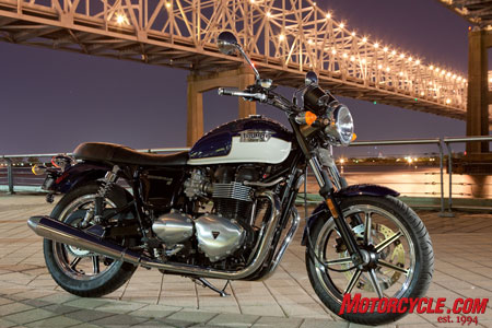 2009 Triumph Bonneville SE. Happy 50th Bonnie!