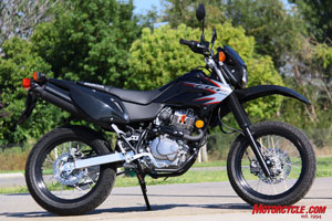 2009 Honda CRF230M. Honda's first, and currently only, production supermoto motorcycle.