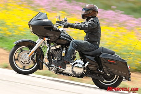 The new Road Glide Custom is an appealing blend of cruiser, tourer and sport.