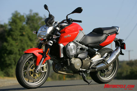 The Aprilia Mana: Like no motorcycle you've ridden before.