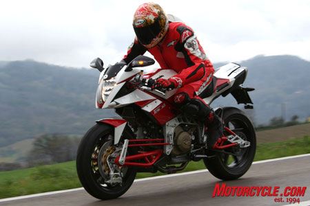 If you're riding a Bimota Tesi 3D you'll definitely stand out from the crowd.