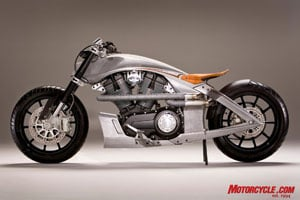 The CORE: a concept born from a production motorcycle, the Victory Vision.