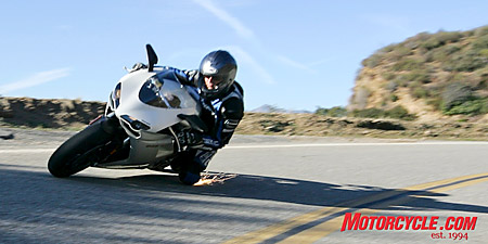 The 848 is sure to create sparks within the sportbike community.