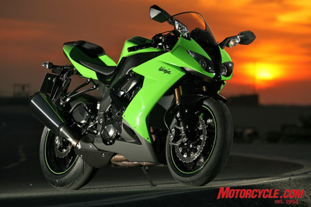 Kawasaki has come up with an incredibly potent and confidence-inspiring package in this ground-up re-do of the ZX-10R missile.