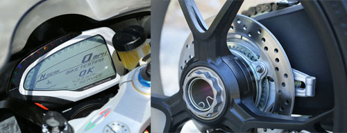 2013 MV Agusta FR 44 Gauges and Wheel