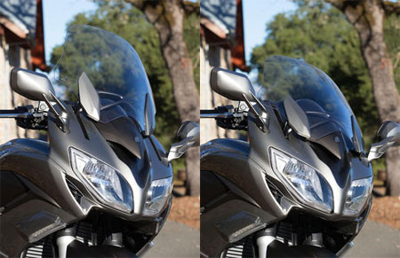 2013 Yamaha FJR1300A Windscreen