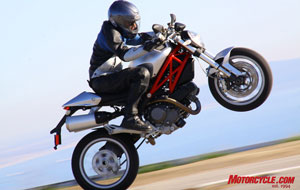 The new M1100 is the best-ever example of Ducati's popular Monster series, combining sexy Italian design with an excellent chassis and lusty, torquey V-Twin grunt that helped make Ducati famous the world over.
