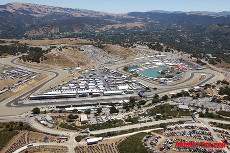 The USGP at Laguna Seca has an unbeatable atmosphere of the finest motorcycles and riders, top-quality vendors and exciting race action - all surrounded by some of the best roads in America.