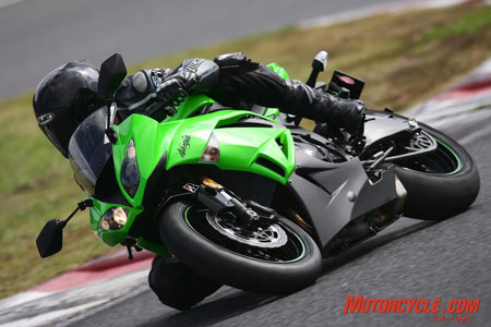 The ZX-6R's class-leading motor underpins its track prowess and its usability on the street, combining to deliver the best 600cc sportbike experience of 2009.
