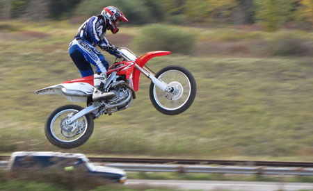 Frequent Flyer. The CRF's low-end thrust is confidence inspiring when the gaps get big.