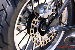 JPM-designed wheels and brake rotors look expensive.